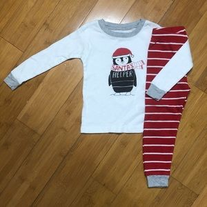 Carter's 2PC Santa's Helper Holiday Pajama Set 2T